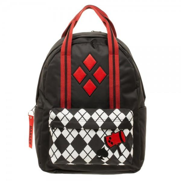 DC Comics Harley Quinn Pocket w/ Top Handle Backpack