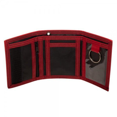 Spiderman Homecoming Tri-fold Velcro Wallet W/ Rubber Patch