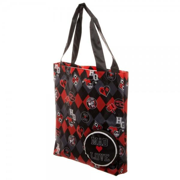 DC Comics Harley Quinn Packable Tote - Free Shipping