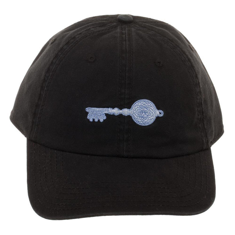 Ready Player One Crystal Key Cotton Embroidered Ballcap, Stylish Black Gamer Dad Hat, Winner Achievement