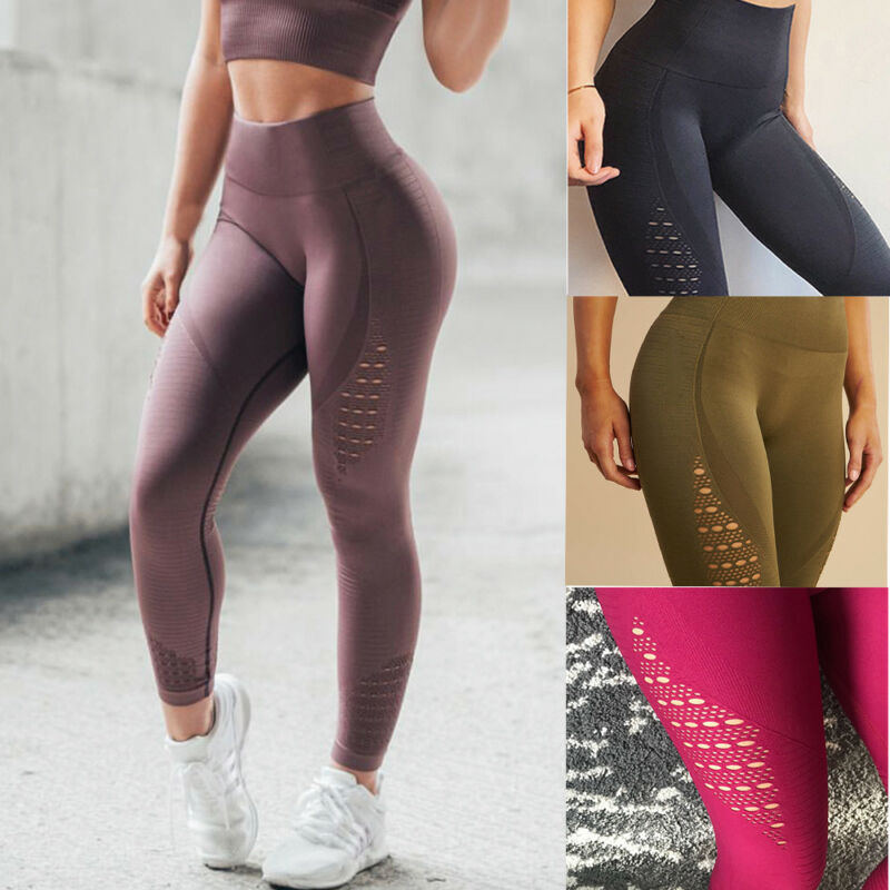 High Waist Yoga Leggings Pants | Seamless Sports Fitness | And1ForALL