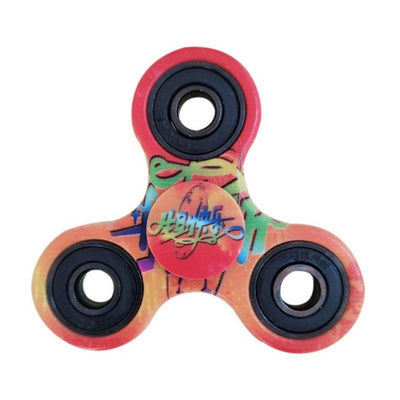 3D Printed Tri Fidget Hand Spinner Toy with High Speed for Boredom, Anxiety and ADHD Kids & Adults-Puzzles-And 1 For All