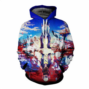 tokyo ghoul characters 3d anime pullover hoodies and 1 for all