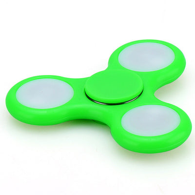 LED Light EDC Fidget Spinner with Switch (EDC) | Autism and ADHD Relief Focus Anxiety Stress Toy-Puzzles-And 1 For All