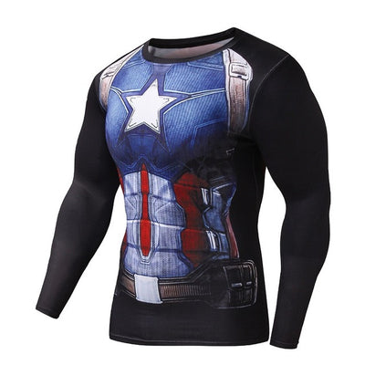 Marvel - The Avengers - DC - SuperHero - Fitness Top 3D Printed T Shirt Collection