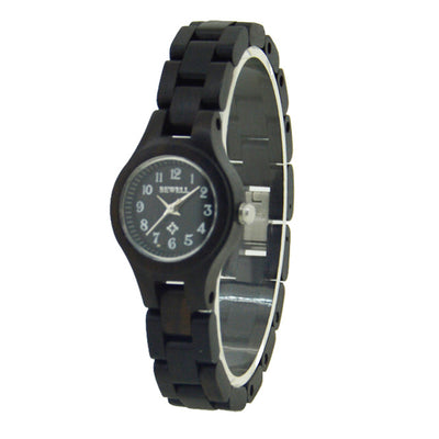 BEWELL Womens Wooden Quartz Watches