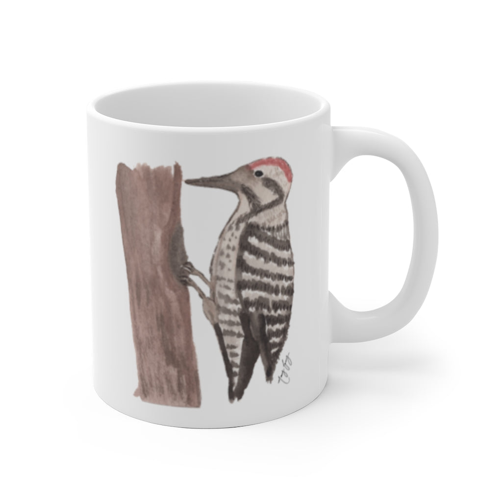 Woodpecker Ceramic Mug