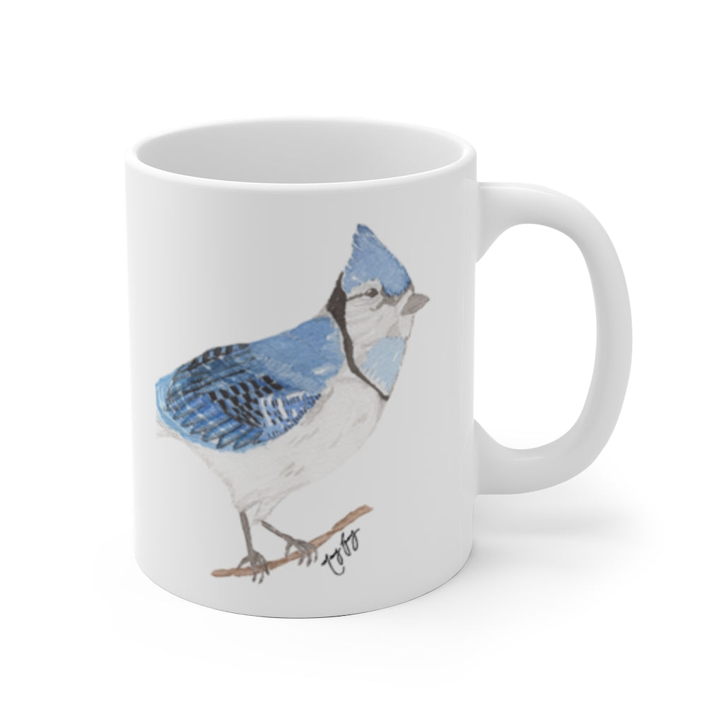 Blue Jay Ceramic Mug
