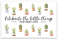 Celebrate the Little Things Sticker