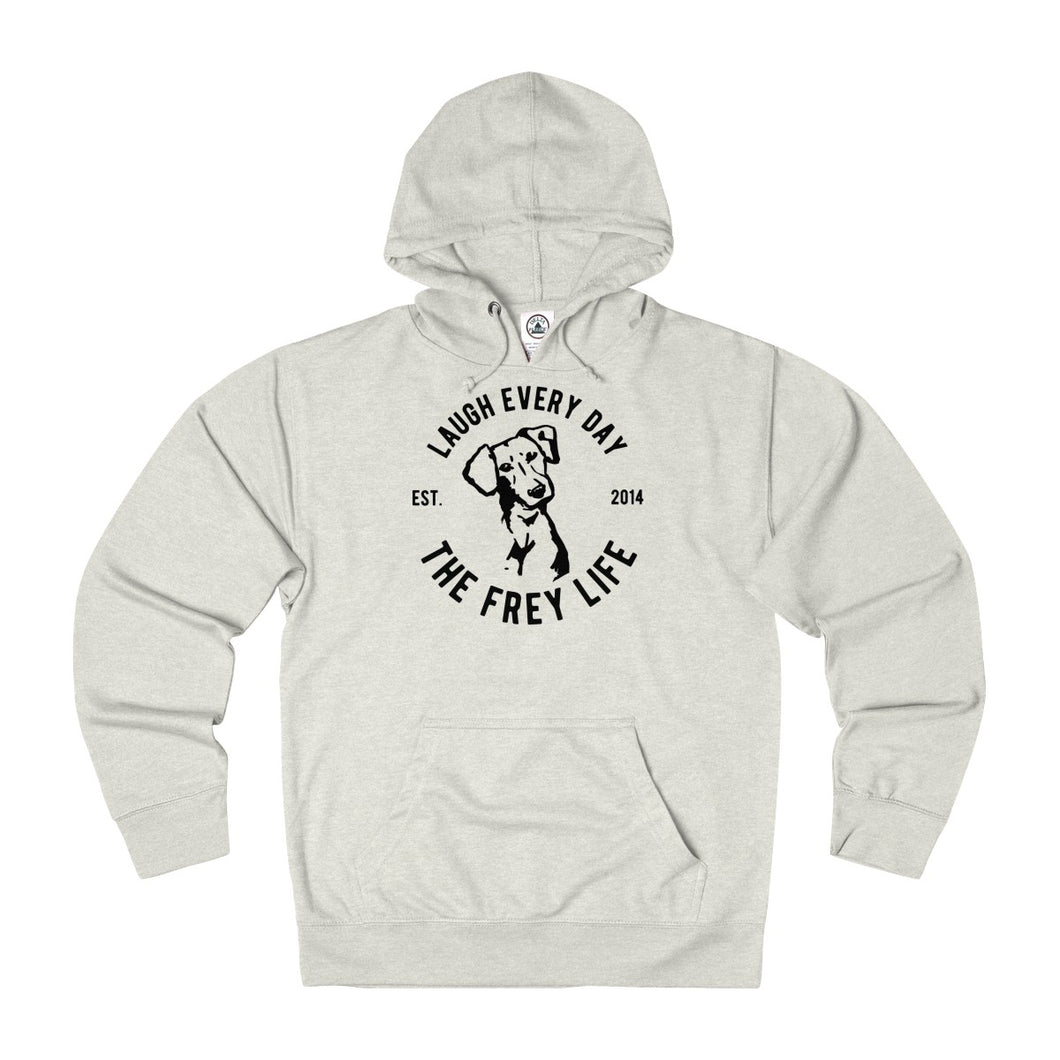 Laugh Every Day - Frey Life Hoodie
