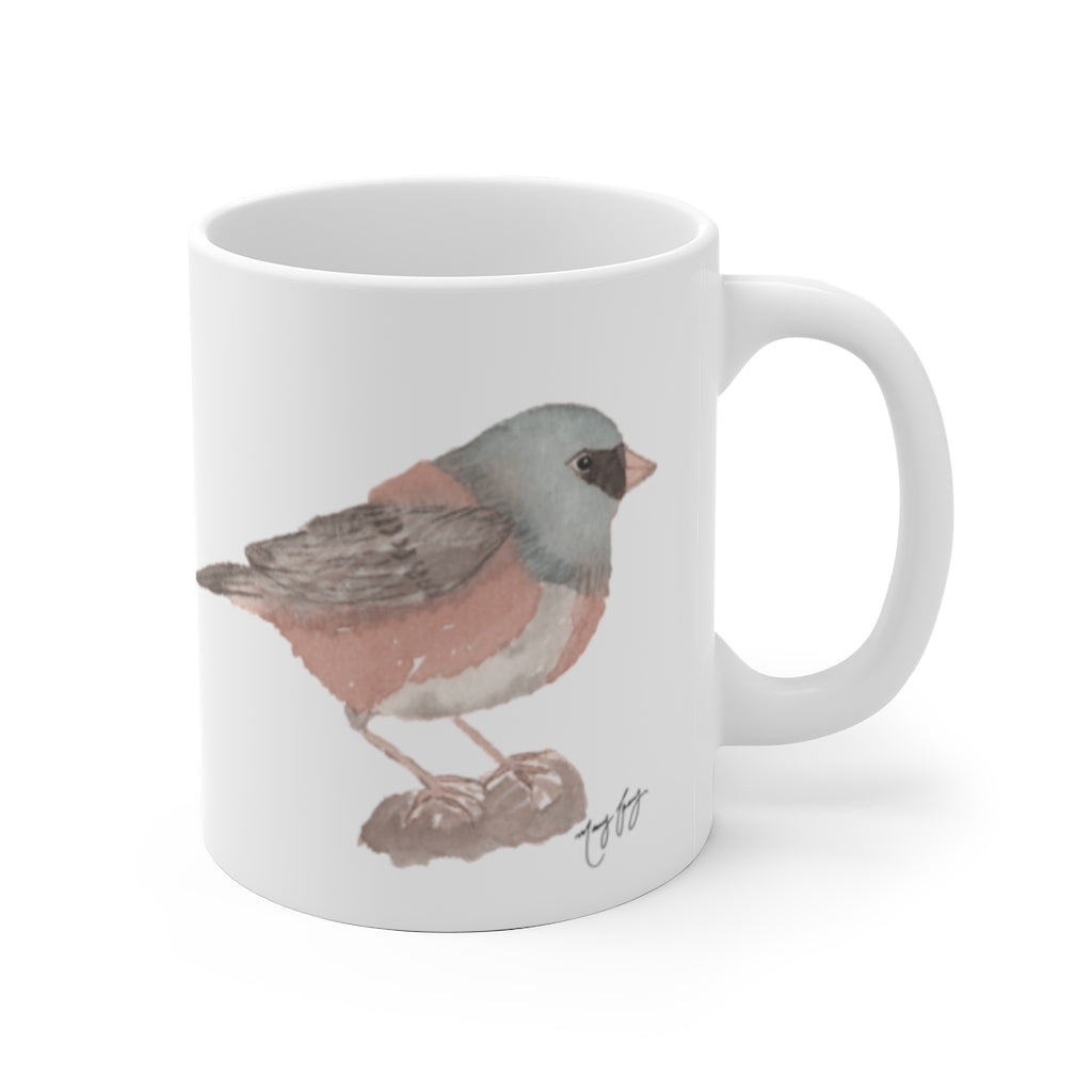 Happy Junco Ceramic Mug