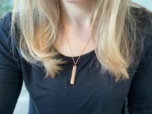 I Choose Joy - Rose Gold Pendant Necklace