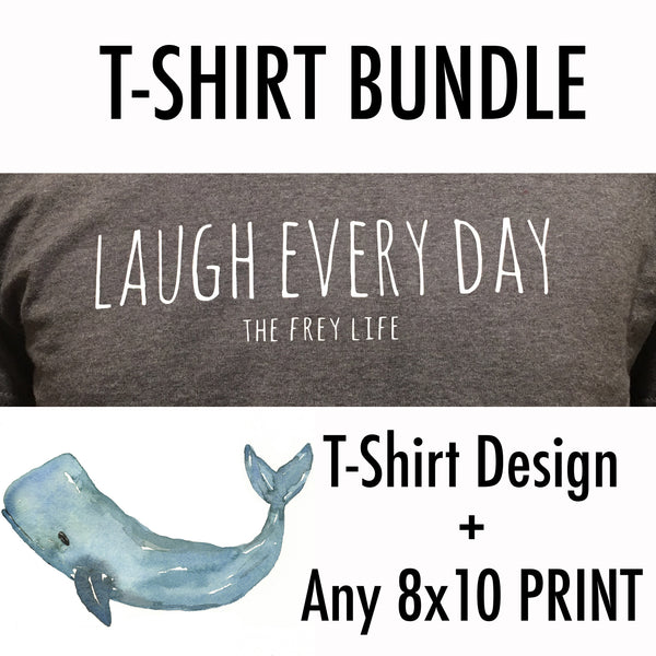 T-Shirt Transfer + 8x10 Bundle