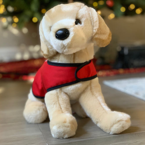 Oliver the Service Dog - Plush Animal