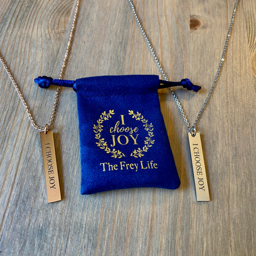 I Choose Joy - Pendant Necklace