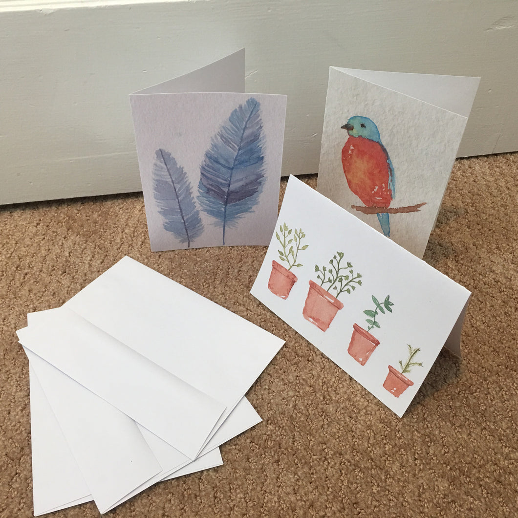 Greeting Cards (3 Pack)