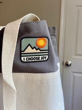 "Canvas Tote Bag - ""I CHOOSE JOY"""