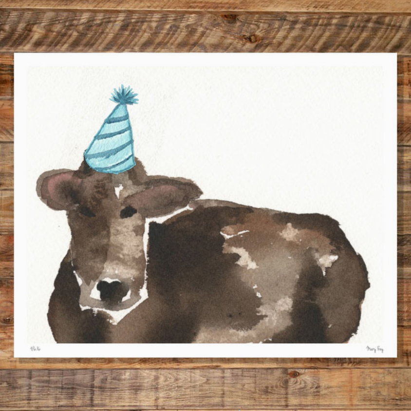 Birthday Cow