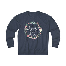 I Choose Joy - Denim Heather Sweatshirt