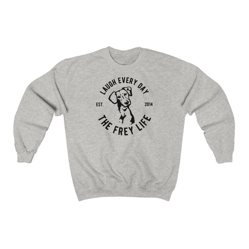 Laugh Every Day - Larger Sizes Sweatshirt