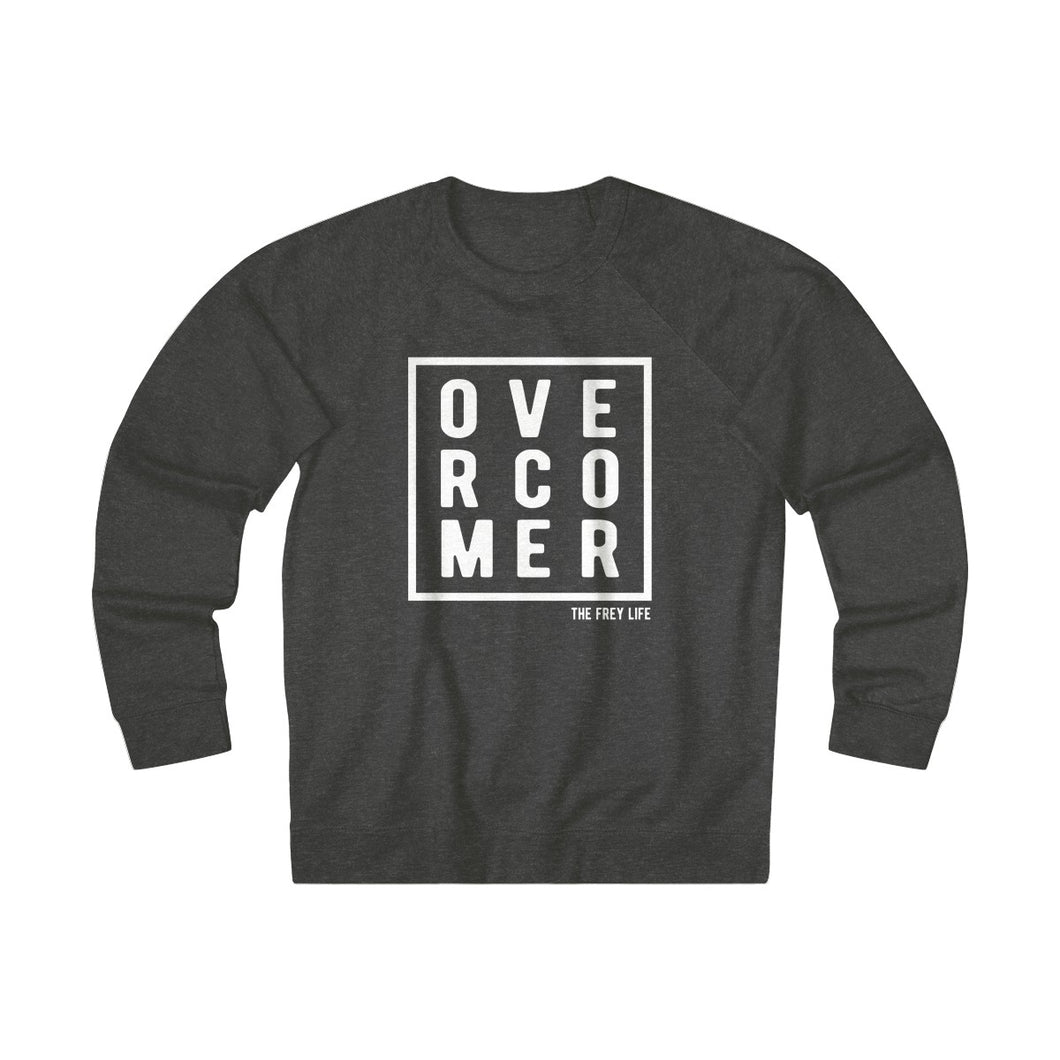 OVERCOMER - Charcoal Heather Sweatshirt