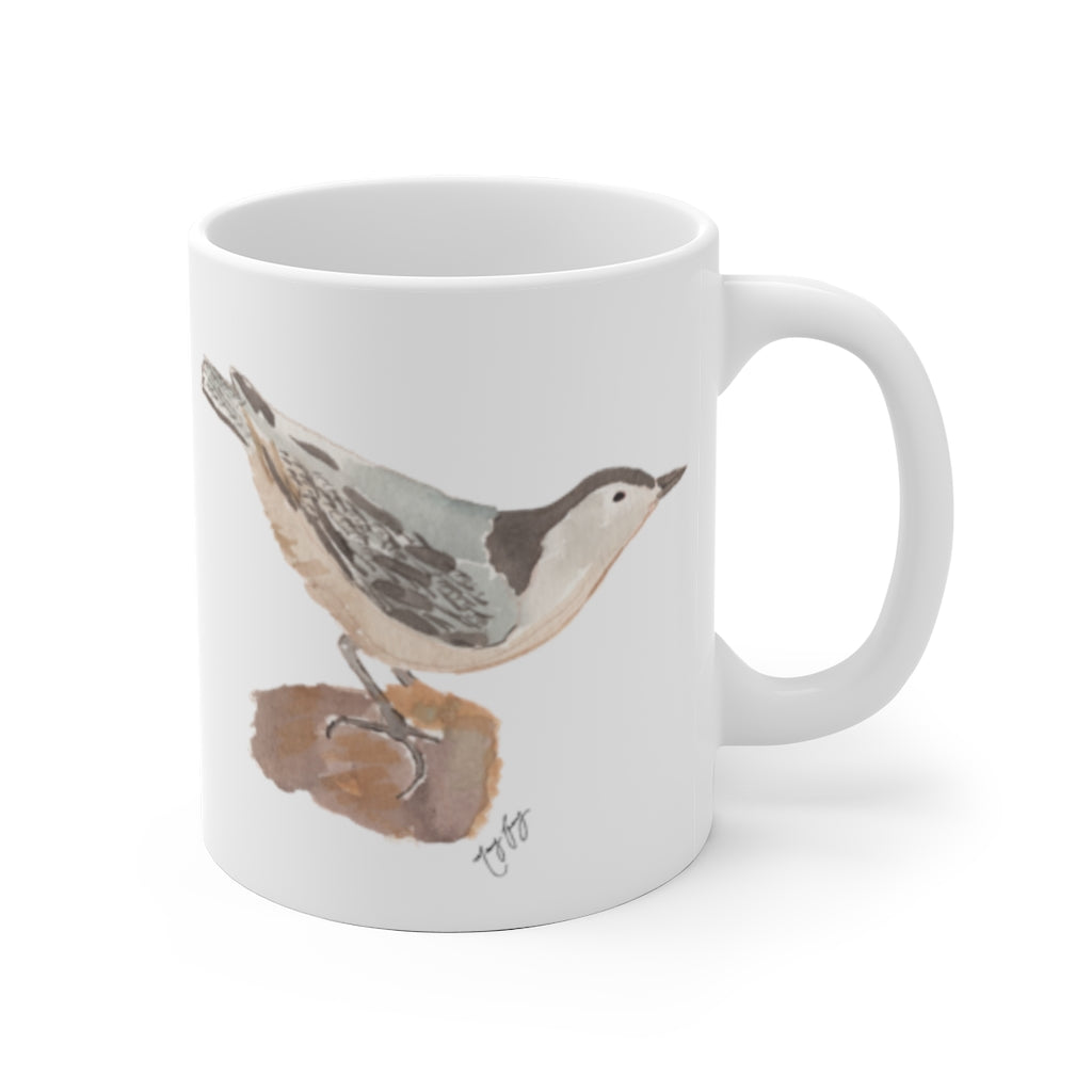 Nuthatch Ceramic Mug