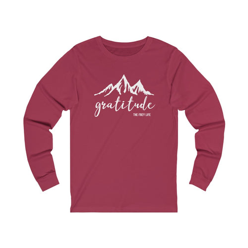 Gratitude - Long Sleeve T-shirt
