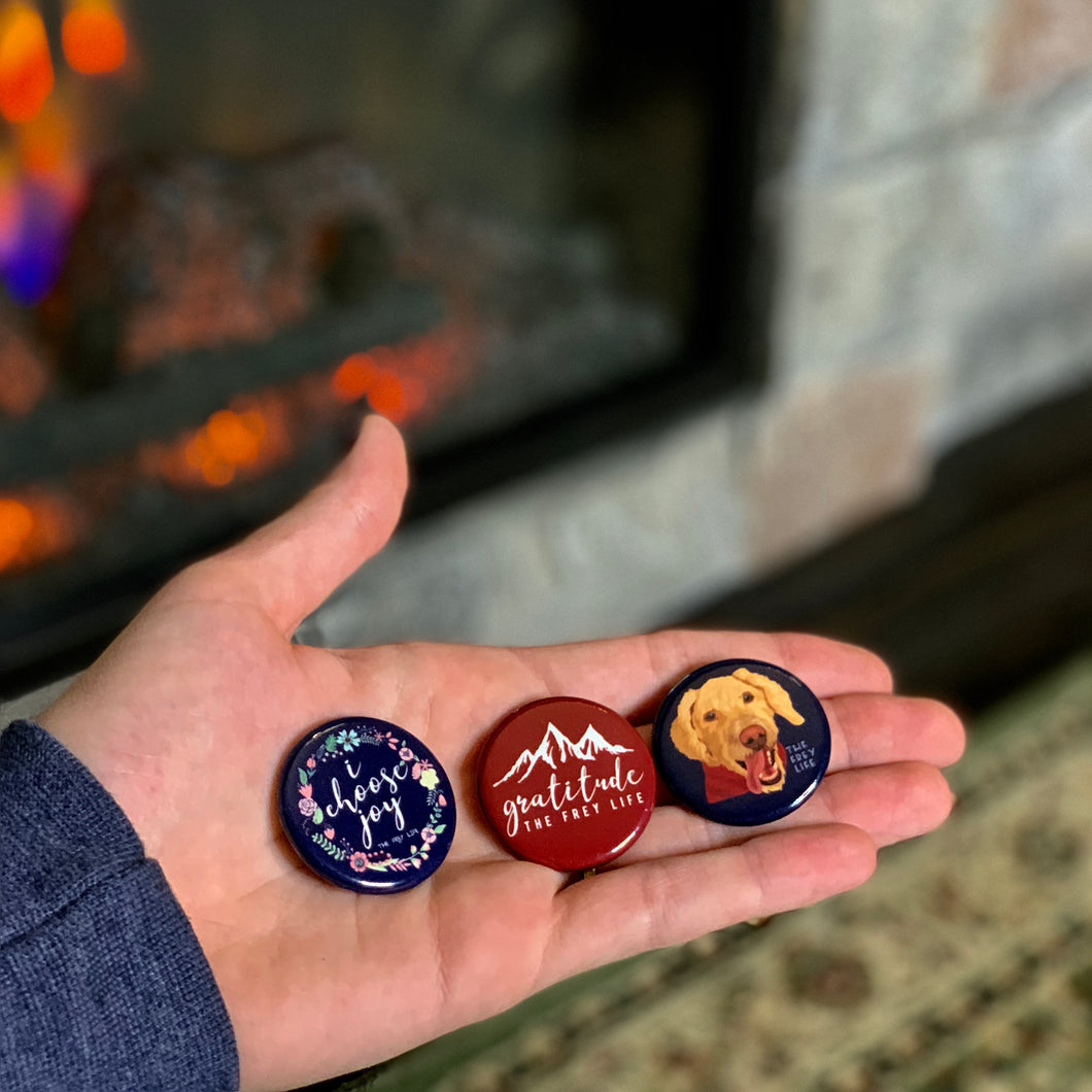 Frey Life Buttons