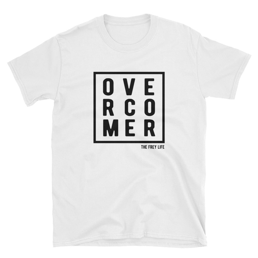 OVERCOMER - White T-Shirt