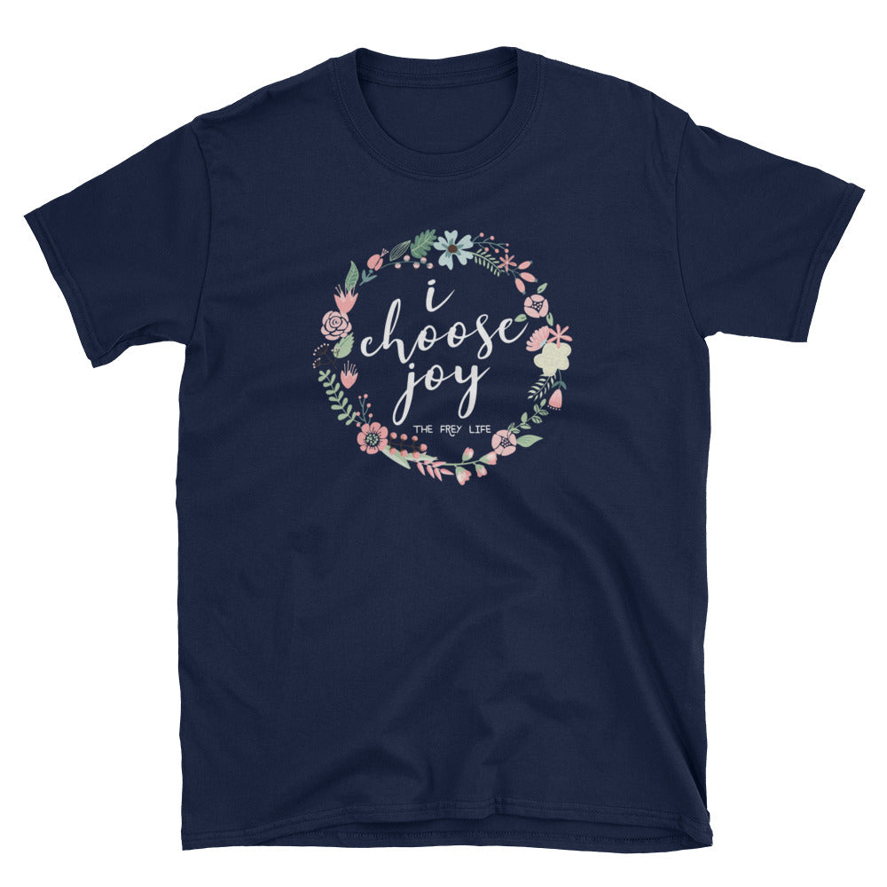 I CHOOSE JOY - Navy T-Shirt