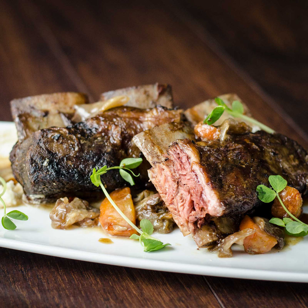 Adena Farms grass-fed, grass-finished Bone-In Plate Short Ribs