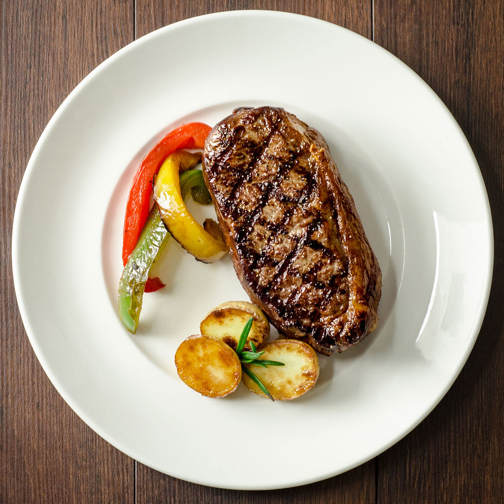 Adena Farms grass-fed, grass-finished Boneless New York Strip