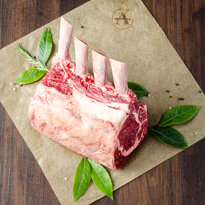 Adena Farms grass-fed, grass-finished Standing Rib Roast