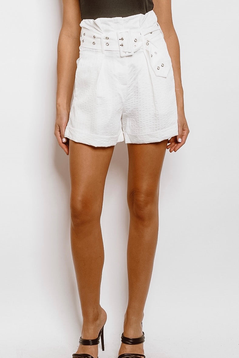 The White Idea Shorts