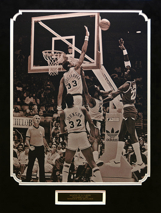 Houston vs. LA Lakers, November 12, 1982