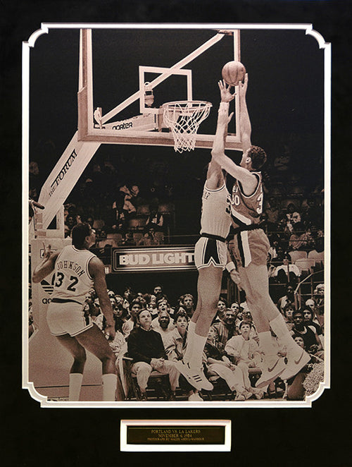 Portland vs. LA Lakers, November 4, 1984