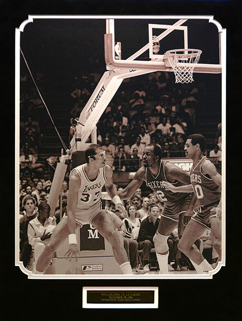Philadelphia vs. LA Lakers, December 28, 1986