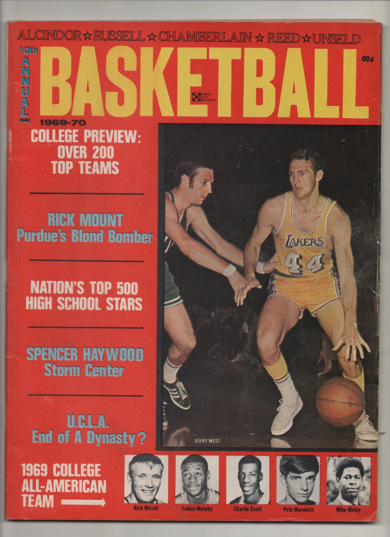 "1969-70 10th Annual Basketball ""UCLA, End Of A Dynasty?"" From The Personal Collection of Kareem Abdul Jabbar"
