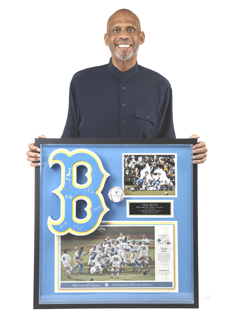 UCLA Bruins Baseball Large Memorabilia Frame Set