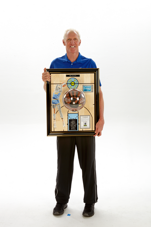 "Bill Walton ""Pauley Pavilion Floor Board"""