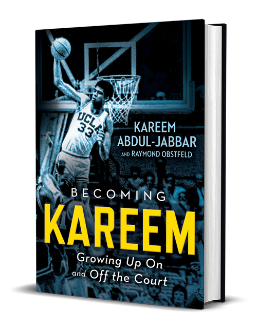 Becoming Kareem - Book Signed by Kareem Abdul Jabbar