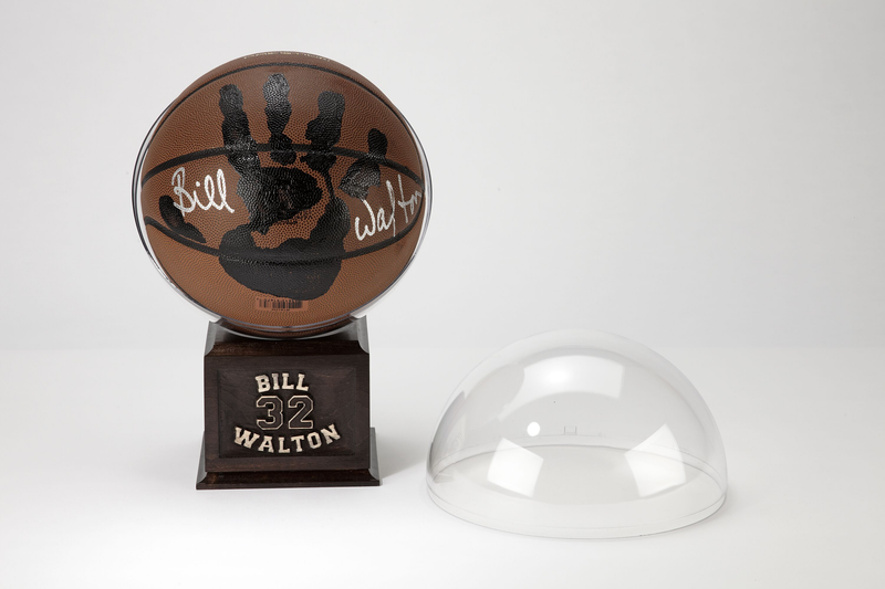 Bill Walton Personally Hand-Printed + Signed NCAA Basketball
