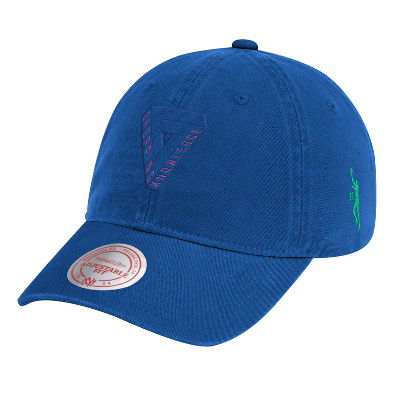 Dropping Knowledge Geo Cap- Blue