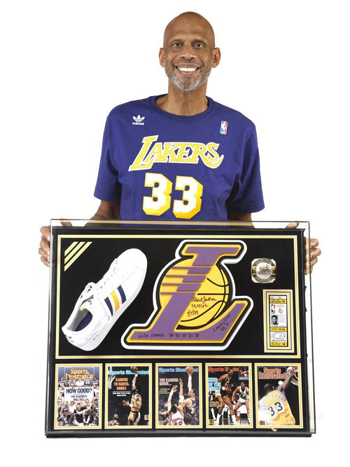 Showtime Lakers Championship Display