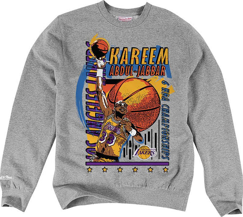 LA Lakers Champions Crew Neck Sweater