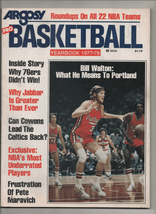 "1977-78 Argosy Pro Basketball Yearbook ""Why Jabbar Is Greater Than Ever"""