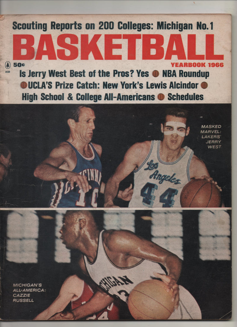 "1966 Basketball Yearbook ""UCLA's Prize Catch: New York's Lewis Alcindor"""