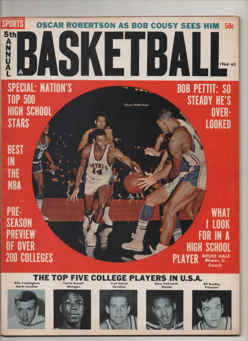 "1964-65 Complete Sports 5th Annual Basketball ""Nation's Top 500 High School Stars"""