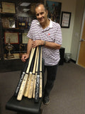 Joe Torre Signed Memorabilia Frame Set (Rare)