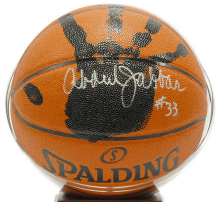 "Kareem Abdul-Jabbar NBA ""Handprint"" Ball"